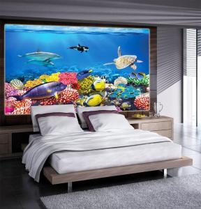 prozor naljepnica akvariji